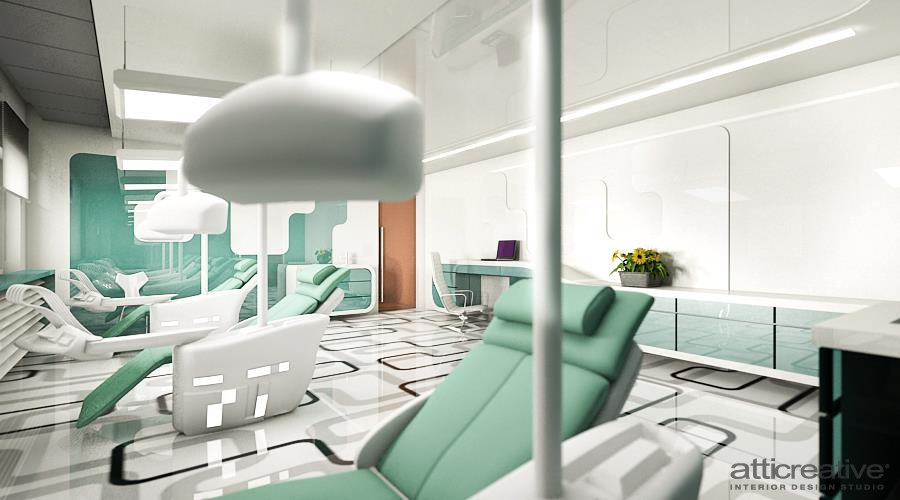 Design interior clinica stomatologica atti creative for Award winning office interiors